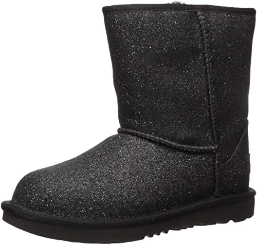 UGG Kids' Classic Short Ii Glitter Fashion Boot
