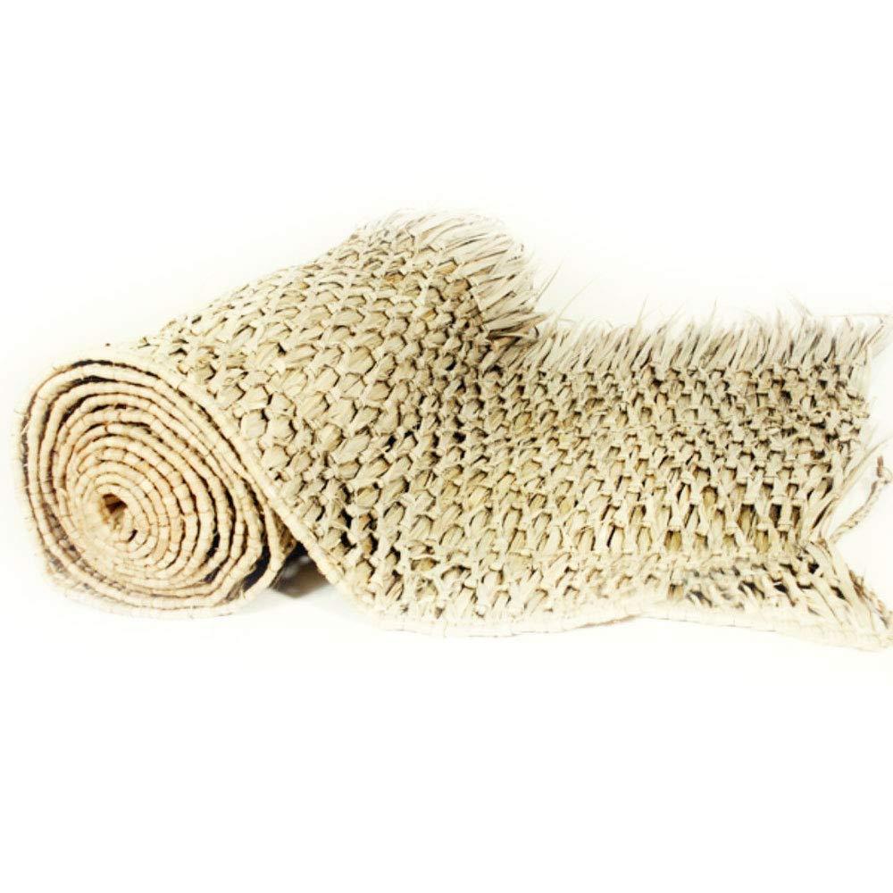 ZotoyaShop Palm Thatch Rolls Commercial Grade Covering Palapa Hut/Tiki Bar Size 30'' x 8'