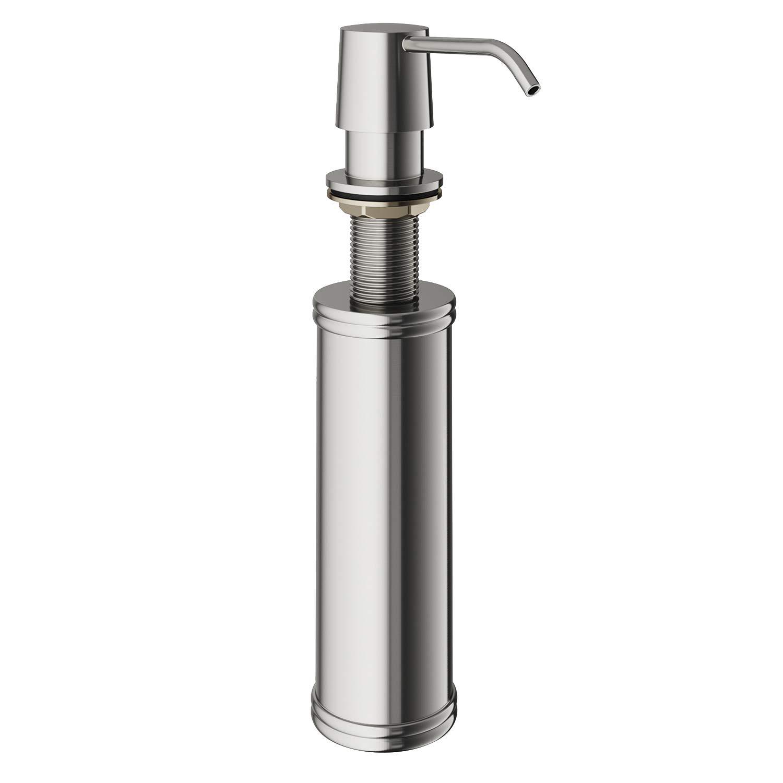 VIGO 10-Ounce Soap or Lotion Dispenser, Stainless Steel