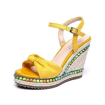 Femmes Bow Rhdtsqcx Hy Nm8no0wv D'été Chaussures De Knit Strass Des Mode q35Lj4AR