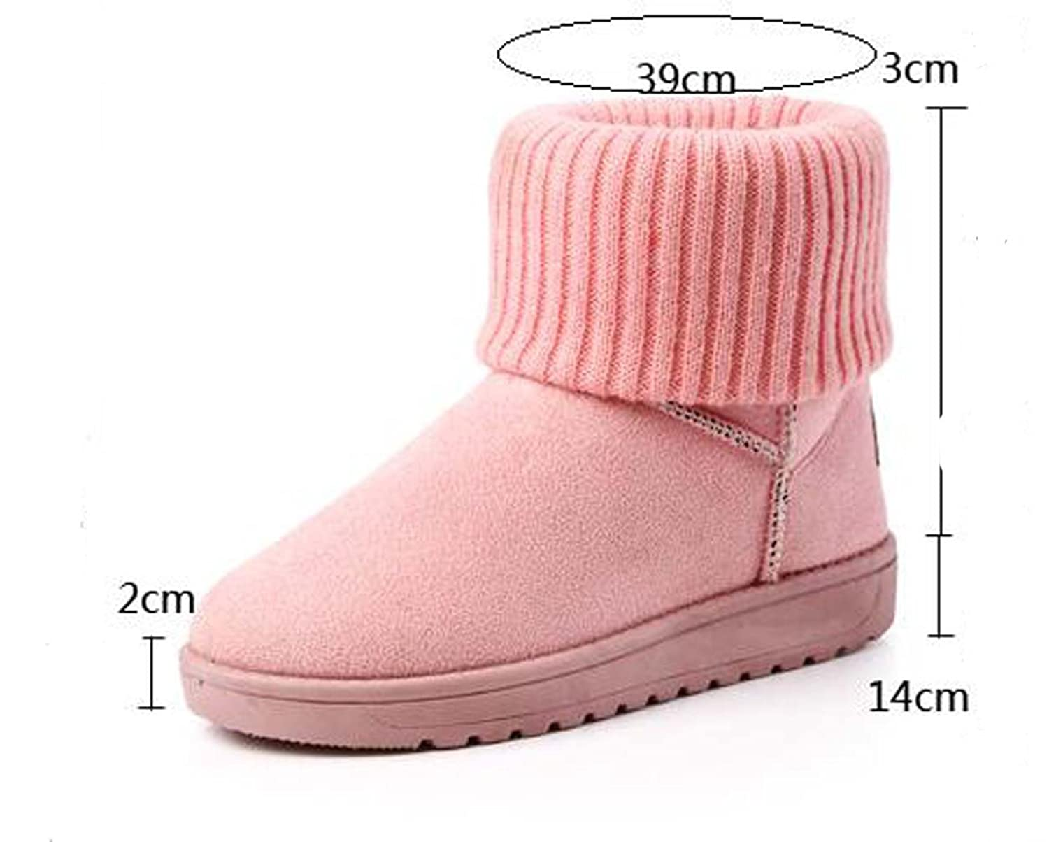 2016 Happy Fashion Tube UG Mid&Ankle Spring Snow Bootie Warm Shoes