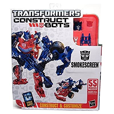 Transformers Construct-Bots Elite Class Smokescreen Buildable Action Figure