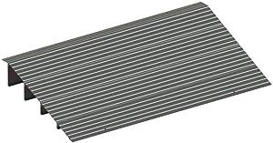 "EZ-ACCESS TRANSITIONS Modular Aluminum Entry Ramp, 4"" Rise"