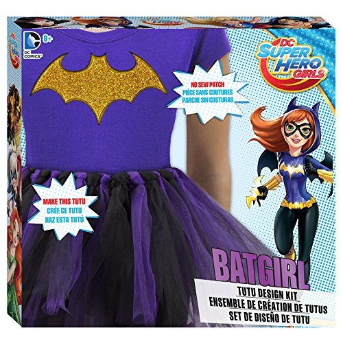 DC Superhero Girls Batgirl Tutu Design Kit (Customs Halloween Make)
