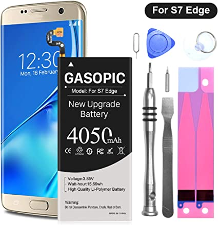 Amazon Com Galaxy S7 Edge Battery Replacement Kit Upgraded