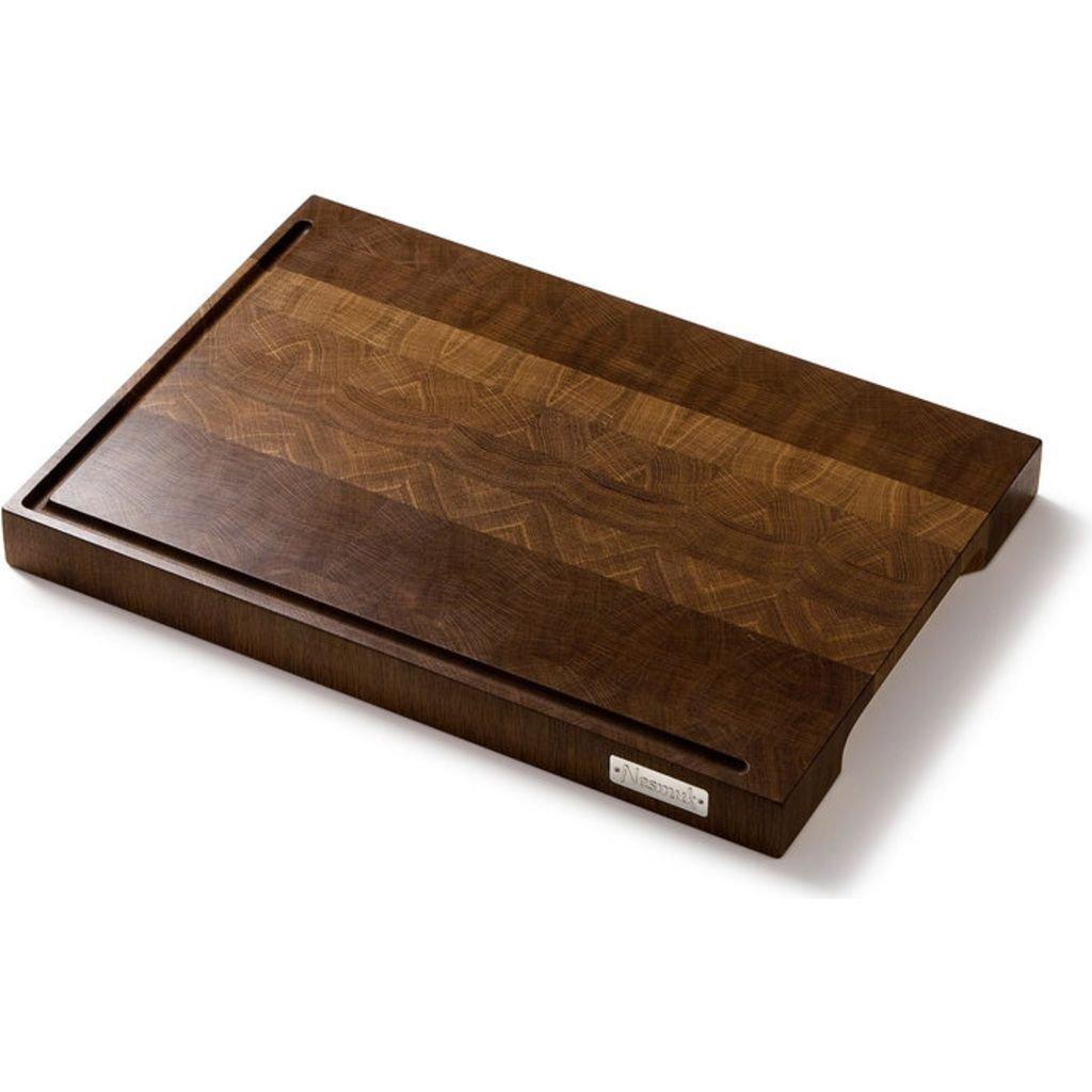 Nesmuk cutting board oak smoked 43,5x30,5 cm