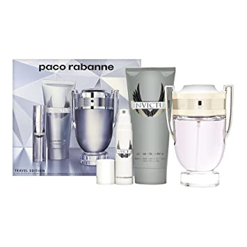 Amazoncom Paco Rabanne Gift Set Invictus By Paco Rabanne Beauty