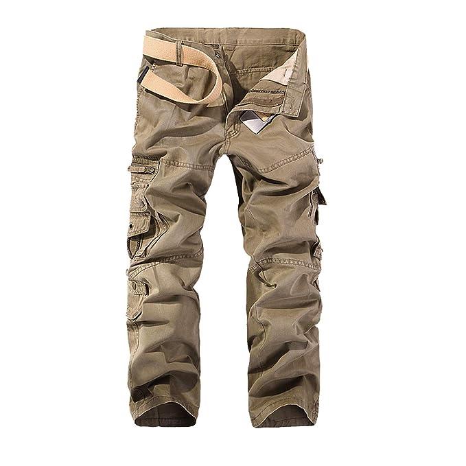 d2bd3a641e G-Anica Pantalones Cargo para Hombre