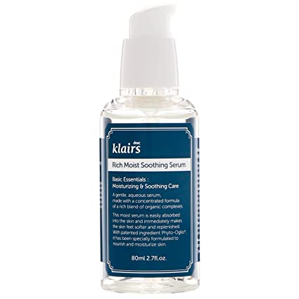 c0c9675b40 Klairs Rich Moist Soothing Serum 50ml, Korean Cosmetics, Sensitive Skin,  Wishtrend: Amazon.in: Beauty