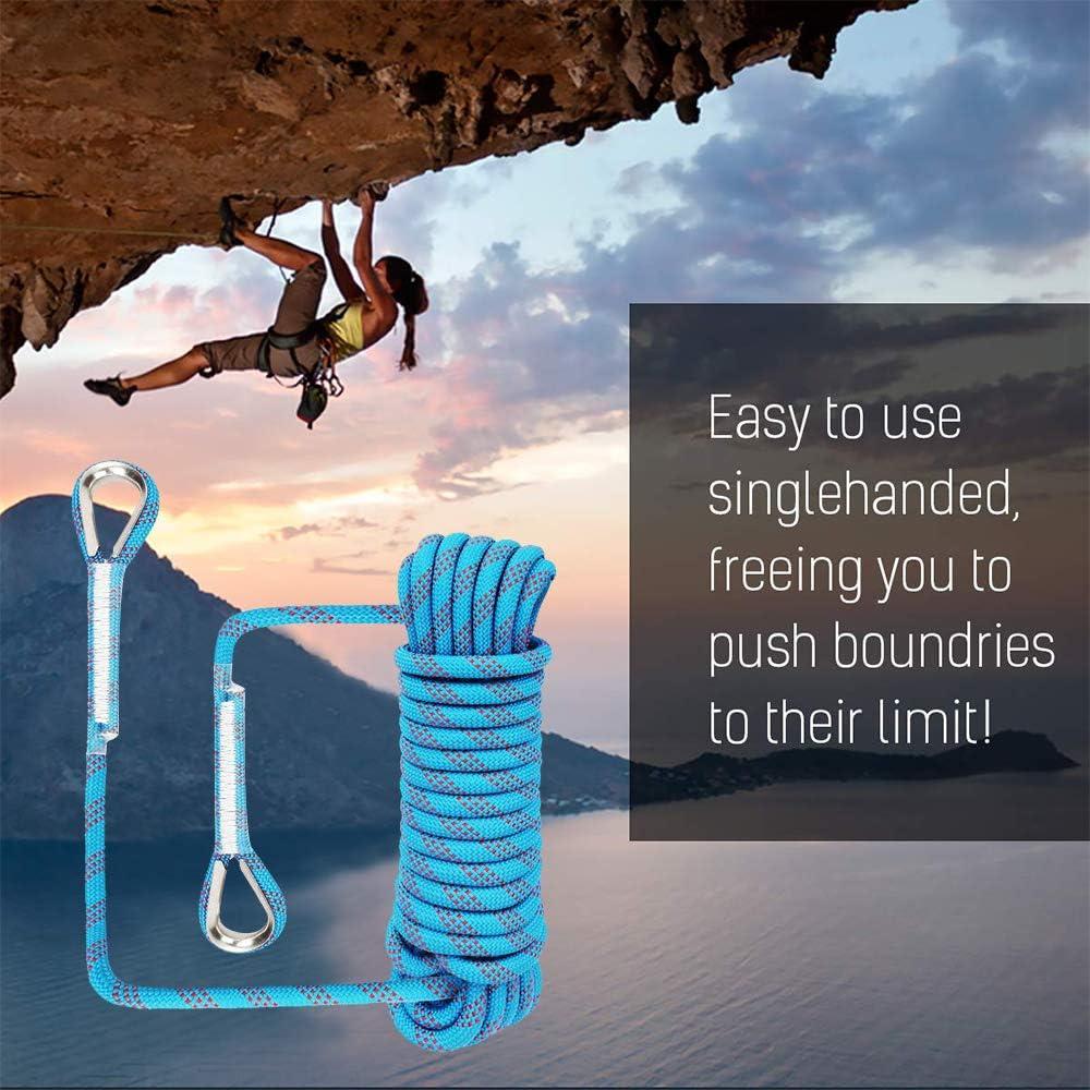 Huatuo 10mm de diámetro Uso Mutil Cuerda para el hogar Cuerdas de Escalada Profesionales Cuerda Rappel Rappel Cuerda de Escape Cuerda de Alta ...