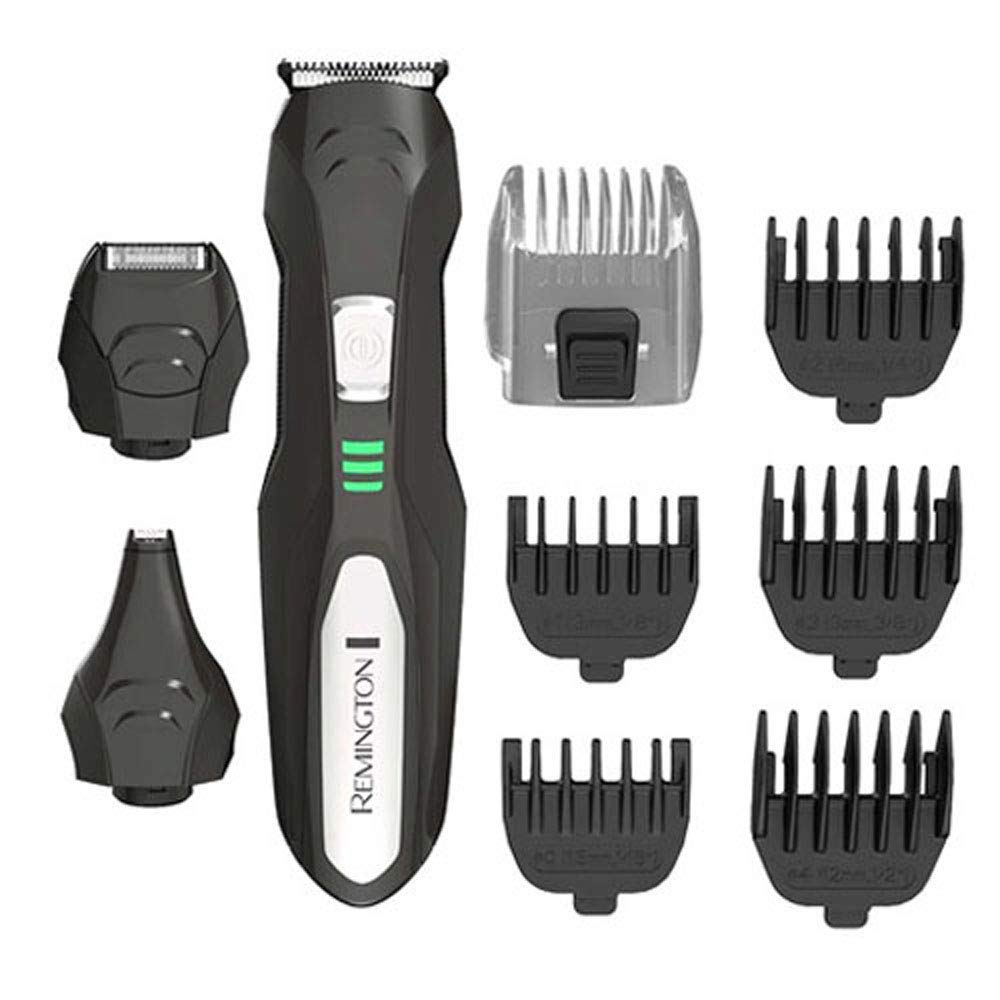 Remington PG6027 Lithium All-in-One Grooming Kit, Trimmer (9 Pieces) (Renewed)