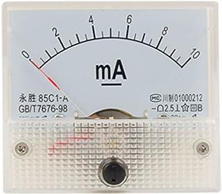 Classe 2,5precisione DC 0–10ma analogico Panel Meter amperometro 85C1pannello analogico Current Meter