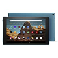 "Certified Refurbished Fire HD 10 Tablet (10.1"" 1080p full HD display, 32 GB) – Twilight Blue"