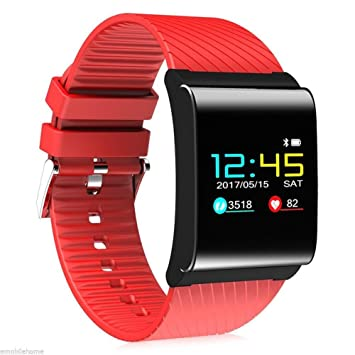"""OOLIFENG Reloj Inteligente Bluetooth Pantalla de Color OLED de 0.95"""" Pulgadas Aptitud Seguidor de Actividad"""