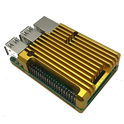 FADDR - Carcasa de Metal para radiador de Raspberry Pi 3B + ...