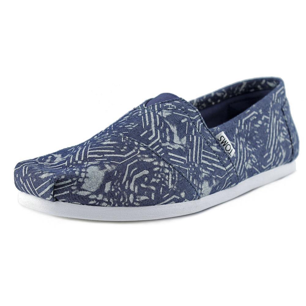 [トムス] スリッポン シーズナルクラシック レディース B013EUMGMC 12 D(M) US|Blue Batik Textile