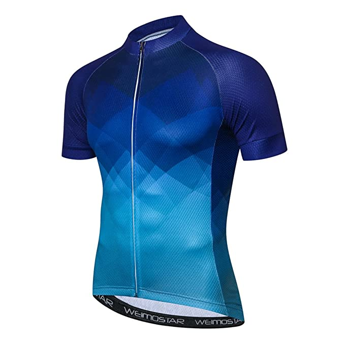 a19cb8971 Image Unavailable. Image not available for. Color  Weimostar 2018 Mountain  Bike Jersey Men s Cycling Jersey Comfortable
