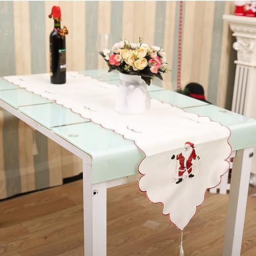 Navidad Camino de mesa para Navidad decoración hueca estilo ...