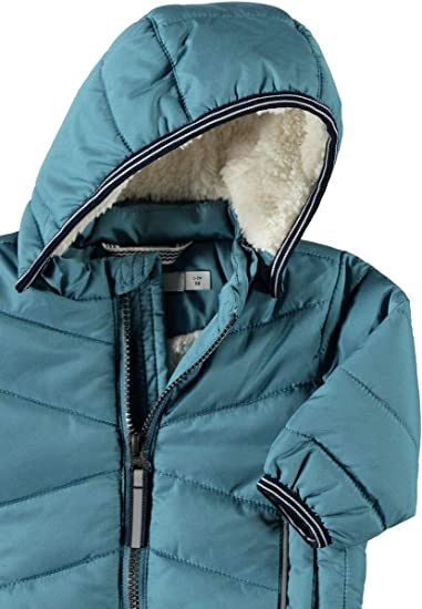NAME IT Baby-Jungen Nbmmus Puffer Jacket Camp Jacke