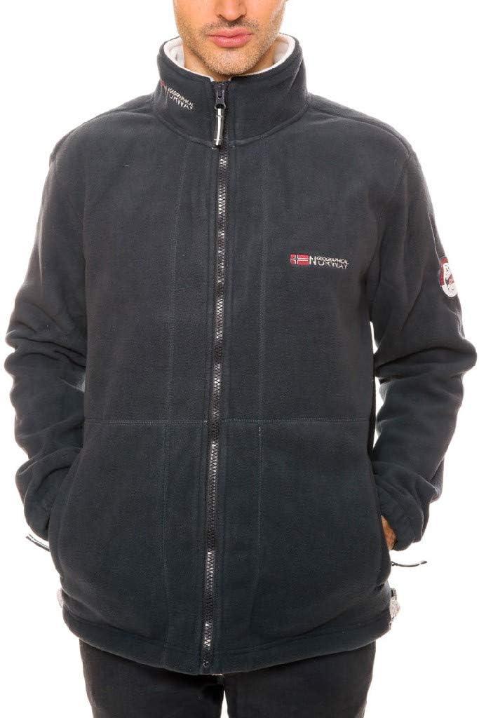 Chaqueta polar totalmente con cremallera para hombre Geographical Norway disponible en 5 colores modelo Torleon S-XXXL