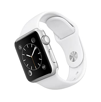 Apple Watch Sport 38 mm - Smartwatch iOS de aluminio en plata ...
