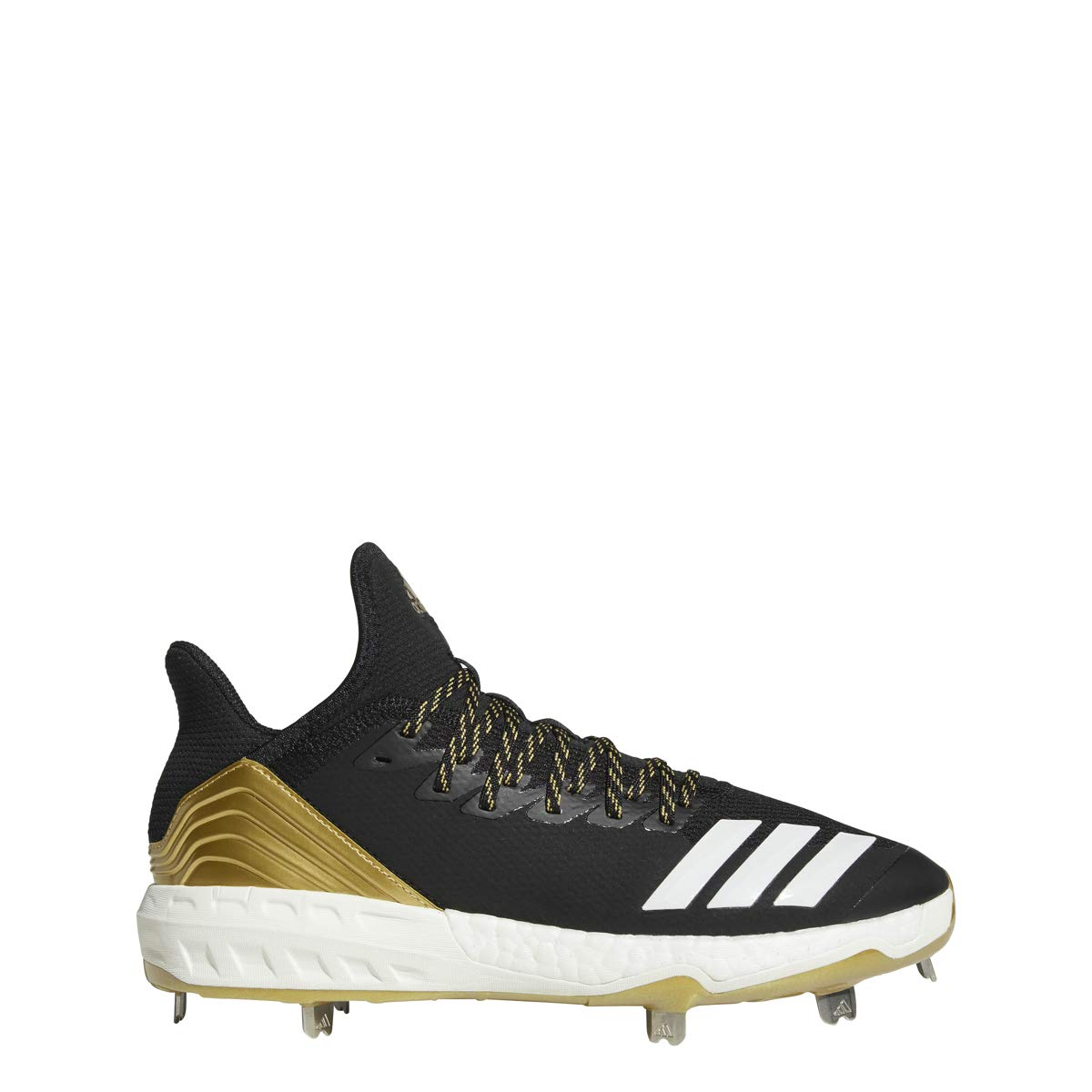 adidas Icon 4 Cleat - Men's Baseball 10 Black/White/Carbon by adidas (Image #1)