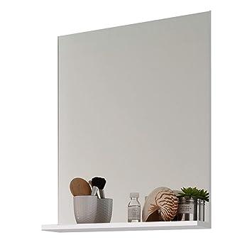Trendteam Muebles, Madera, Blanco, 60 x 78 x 16 cm