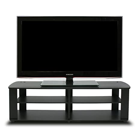 furinno 11191bk the entertainment center tv stand black - Entertainment Centers Tv Stands