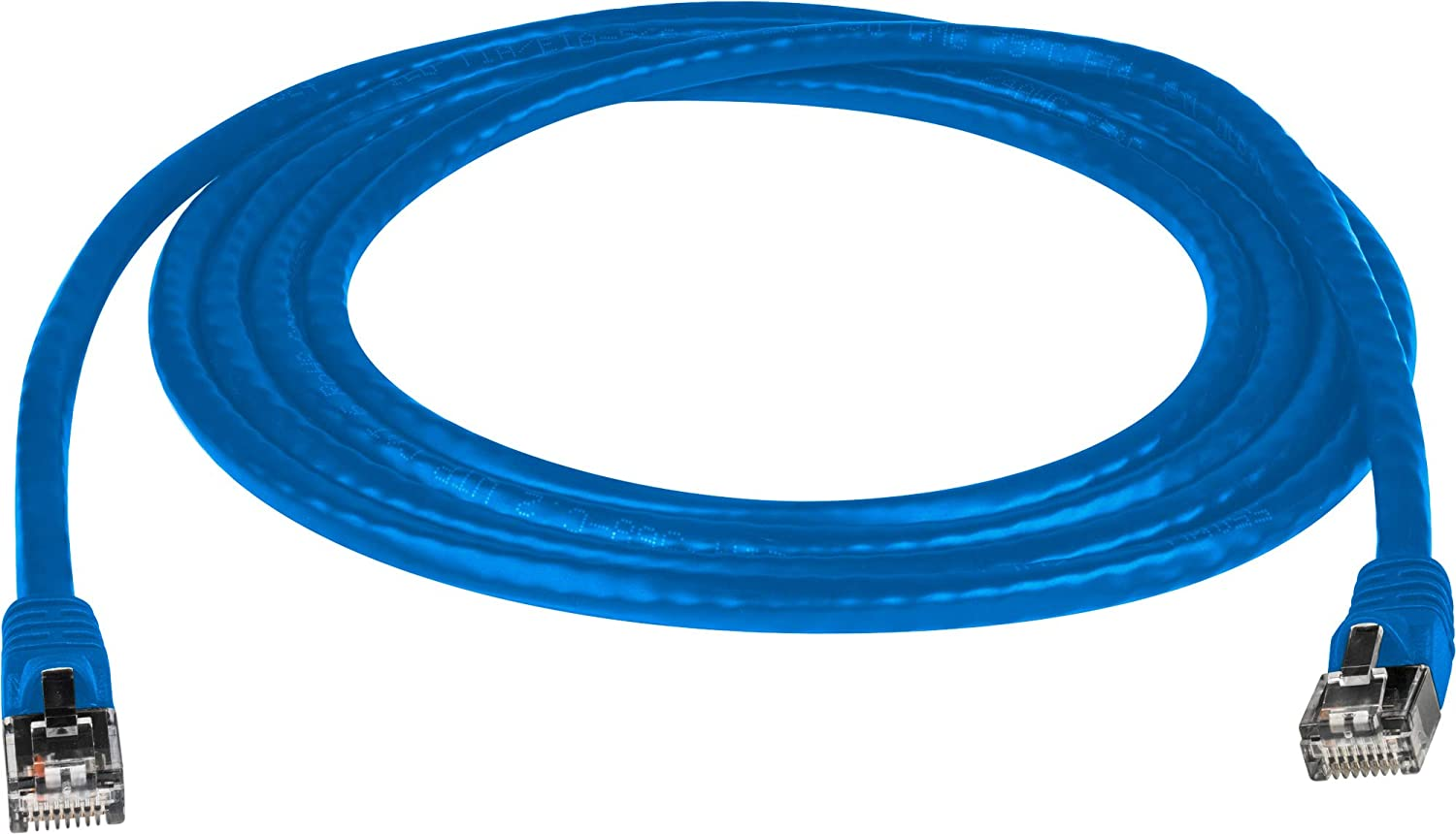 Molded Utp Cat6 Cable 24Awg 50U 75 Foot Blue