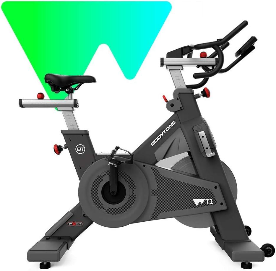BT BODYTONE Ciclo Indoor WT1 Bicicleta con vatios: Amazon.es: Deportes y aire libre