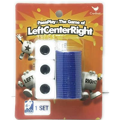 PassPlay: The Game of Left Center Right Dice Game (Original Version): Toys & Games