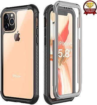 Coque iphone 11 Pro Max Coque de Protection Intégrale Antichoc avec Protecteur d'écran Intégré pour iphone 11 Pro Max 6.5'' 2019