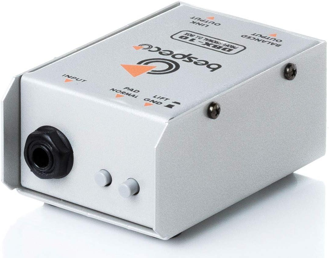Bespeco DBX10 Caja directa pasiva: Amazon.es: Instrumentos musicales