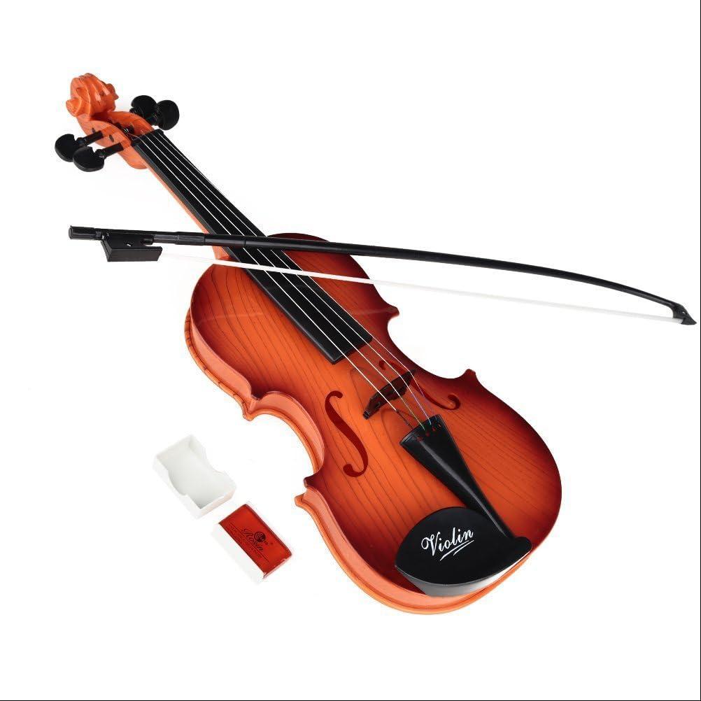 PIXNOR Violino giocattolo Mini musica violino Bambini giocattolo