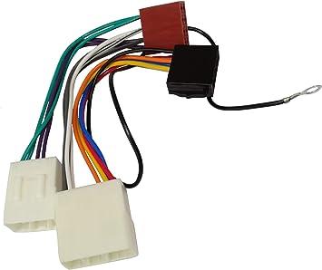 Aerzetix Z1 Iso Konverter Adapter Kabel Radioadapter Radio Kabel Stecker Iso Kabel Verbindungskabel Auto