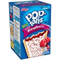 Pop-Tarts, Frosted Raspberry, 8-Count Tarts, 14.7 ounces (Pack of 12) from Pop-Tarts