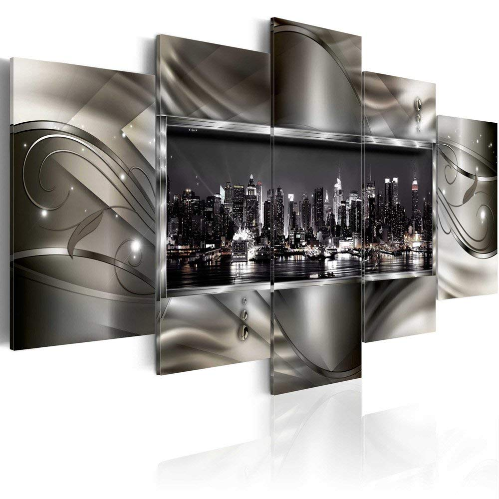 New York Wall Art Decor Picture Canvas Print Design Wall Art Decal Painting Decor Decorations for Home Bedroom Office Artwork overallsize 40 x20