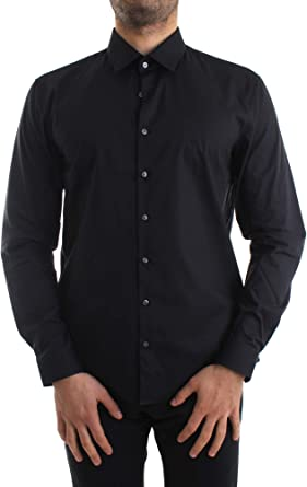 Calvin Klein - Camisa para Hombre, Color Azul: Amazon.es: Ropa y accesorios
