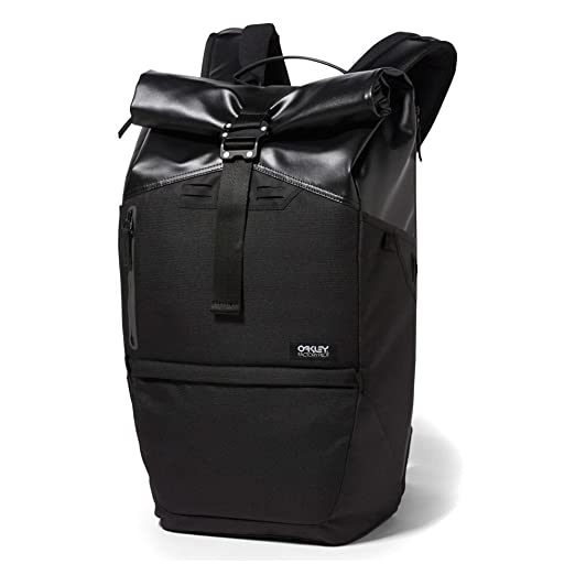 a6688be7720cb Amazon.com  Oakley Mens Factory Pilot 25L Backpack One Size Jet Black   Sports   Outdoors