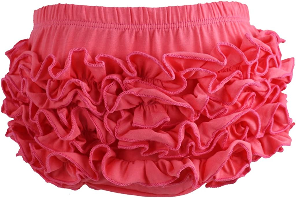 Wennikids Baby Girls Cotton Shorts and Diaper Cover Bloomers