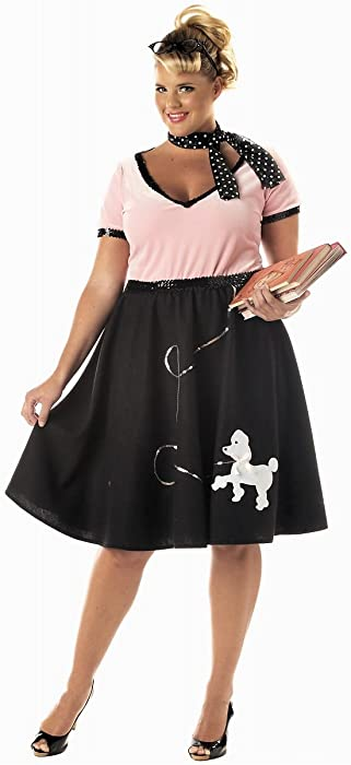 bbd15c3ca01d8 Amazon.com  California Costumes Women s Plus-Size 50 s Sweetheart ...