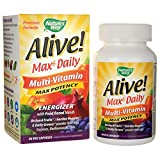 Nature's Way Alive! Max 6 Daily Multi-Vitamin 90 Veg Capsules