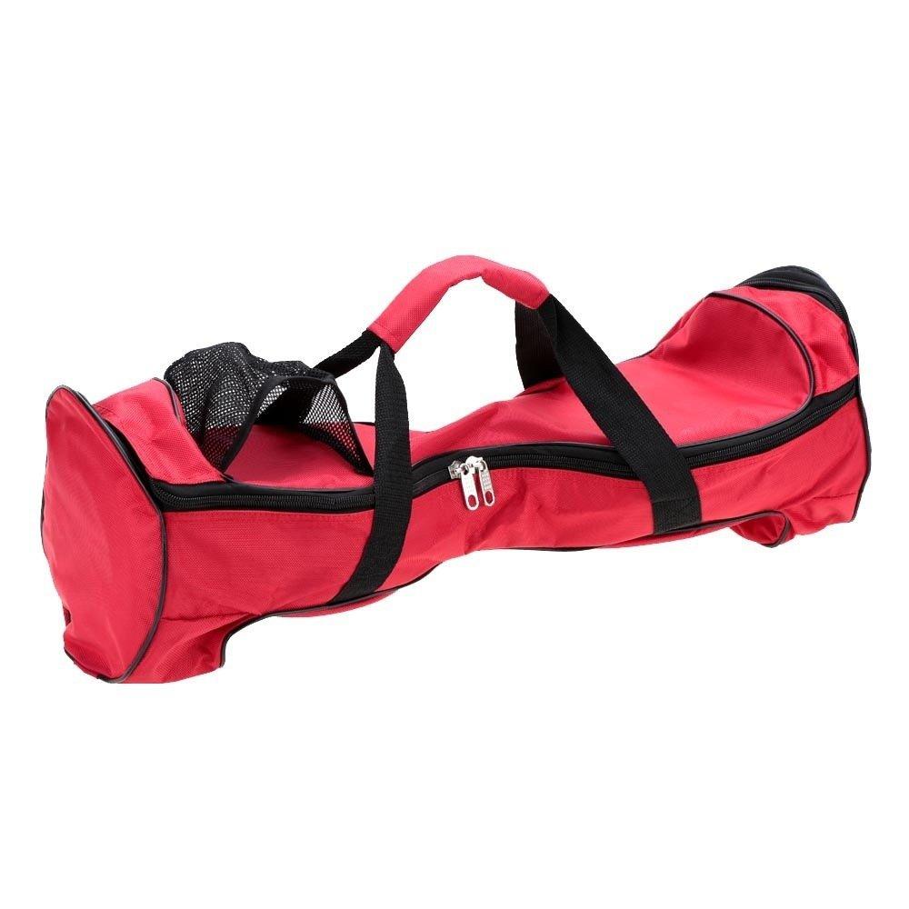 25,4cm étanche Tissu Oxford Hoverboard Sac de transport Sac à dos pour deux roues Scooter Sac Portable durable Drifting Board Smart Planche d'équilibre Scooter Sac à main Sac de rangement (Hgj25) Red HANSHI