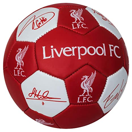 Club Licensed Liverpool Nuskin Signature - Balón de Fútbol (Talla ...