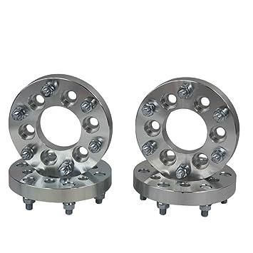 ALLOYWORKS rueda espaciadores para Nissan Navara 6x114.3 to 6X139.7 25MM (4 unidades): Amazon.es: Coche y moto