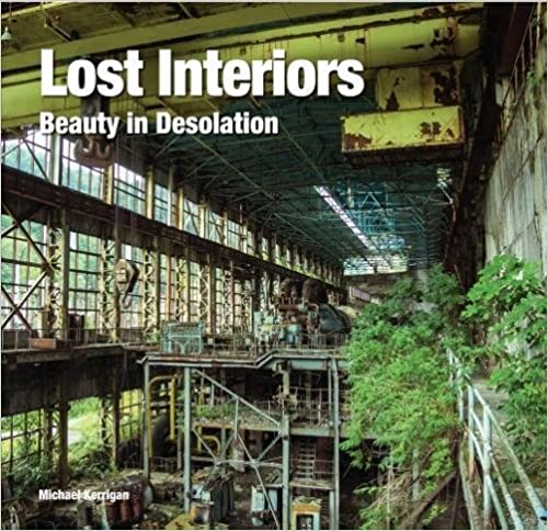 Book cover of Lost Interiors by Michael Kerrigan link to Amazon to buy the book