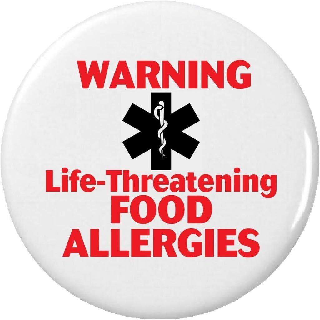 Warning Life-Threatening FOOD ALLERGIES 2.25