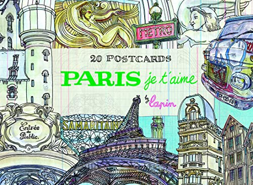 Paris, je t'aime: 20 Postcards Book