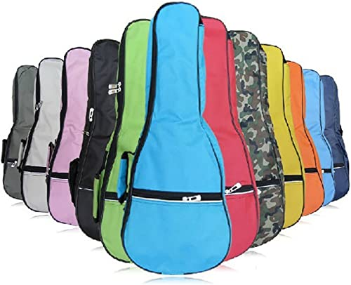 HOT SEAL Waterproof Durable Colorful Ukulele Cotton Case Bag