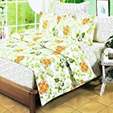 Blancho Bedding - [Summer Leaf] 100% Cotton 3PC Comforter Cover/Duvet Cover Combo (Twin Size)